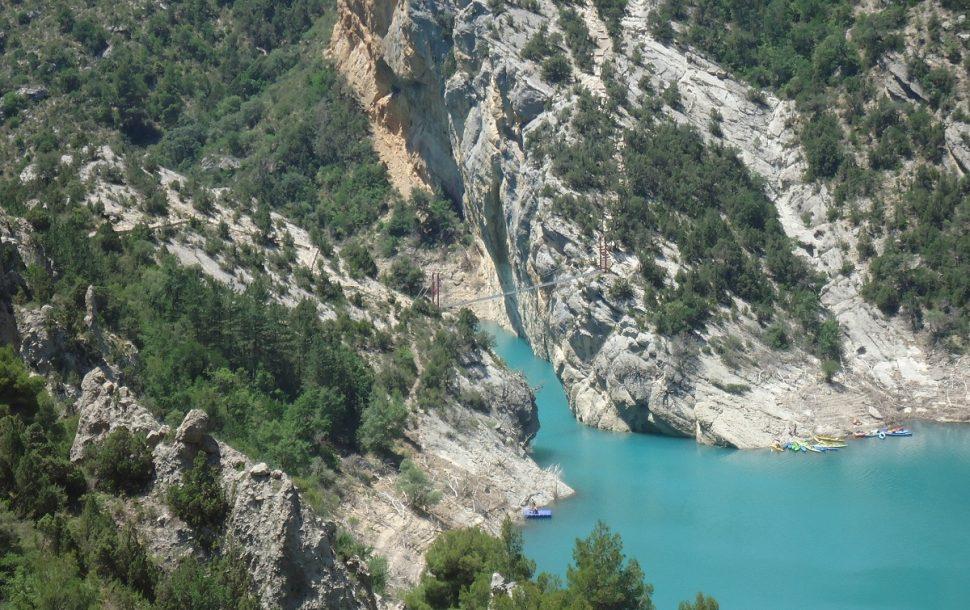 Congosto de Montrebei y escaleras de Montfalcó