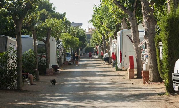 campings de playa en Tarragona