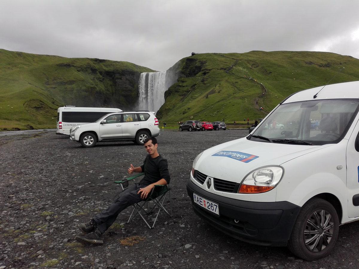 islandia en furgoneta